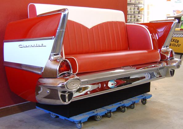 New Retro Cars : Restored Classic Car Furniture and Decor ...