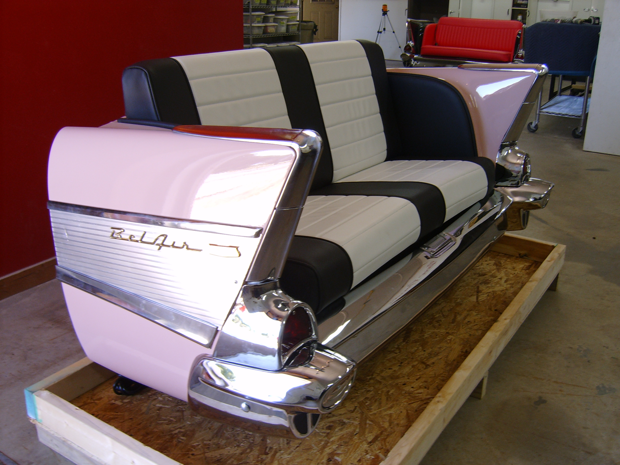 New retro cars restored classic car furniture and decor for Classic beds for sale