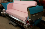 1957 Chevy Rear End Rear Facing Couch