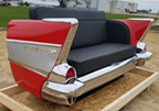 57 Chevy Bel Air Rear End Couch