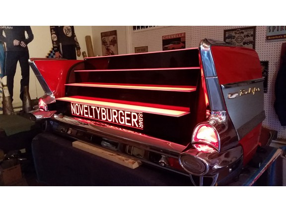 1957 Chevy Rear End Retro Car Bar