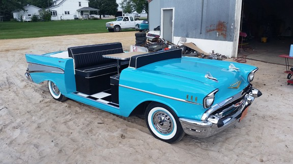 1957 Chevy Full Car Booth
