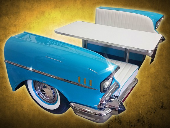 1957 Chevy Bel Air Front End Booth