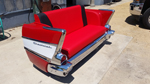 1957 Chevy 210 Rear Facing Couch - Side View