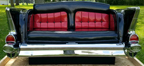 1957 Chevy Bel Air Rear End with Button Tufted Panels