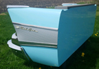 57 Chevy Bel Air Rear End Outdoor Bench