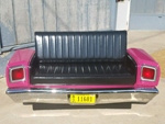 1969 Mopar Roadrunner Couch
