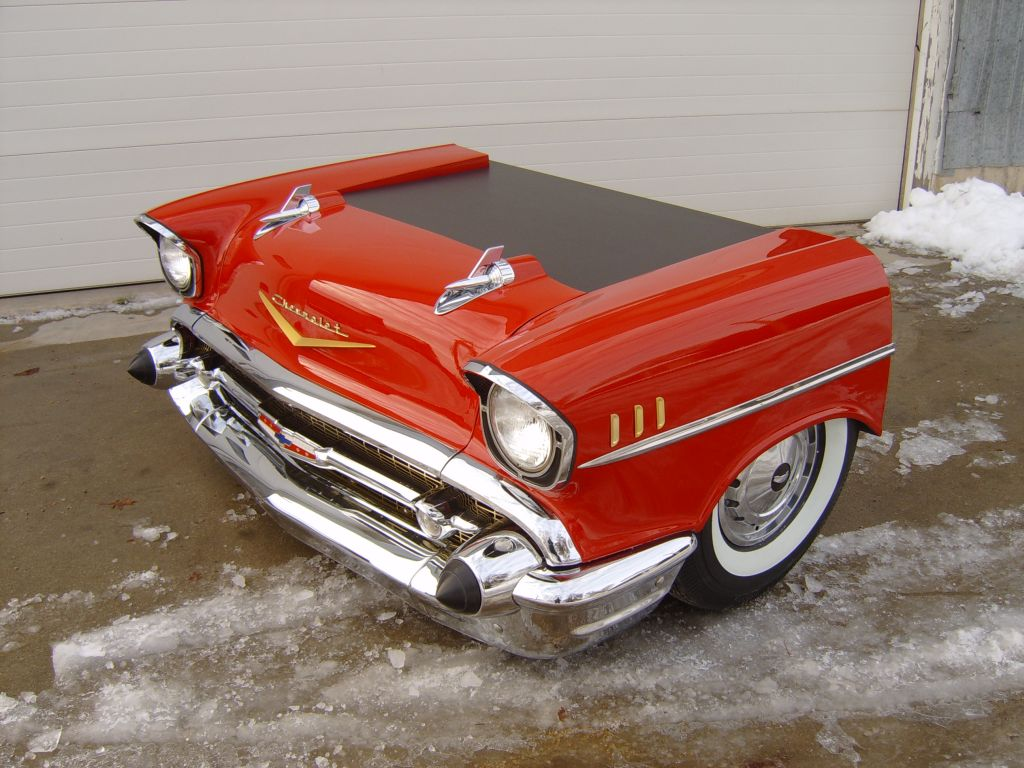 Truck 1957 chevy truck parts : 1957 Chevy desk with drawers!! www.newretrocars.com | Retro Dreams ...