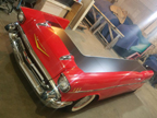 1957 Chevy Bel Air Car Dentist Office Reception Desk