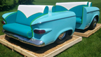 1957 Studebaker Double Couch Set