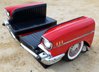 1957 Chevy Bel Air Econo Car Booth