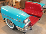 1957 Chevy Bel Air Econo Booth