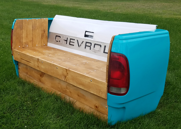 1950s Chevy Truck Tailgate Bench